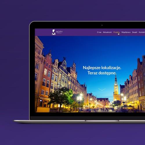 Xcity Investment - strona internetowa